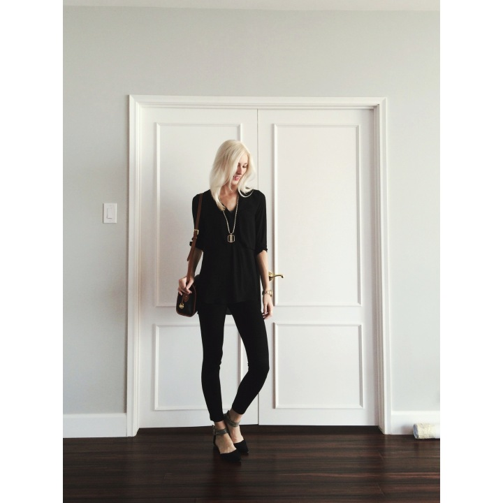 Style of the Day: The Black SkinnyJean
