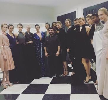 Agency AZ models in their last looks