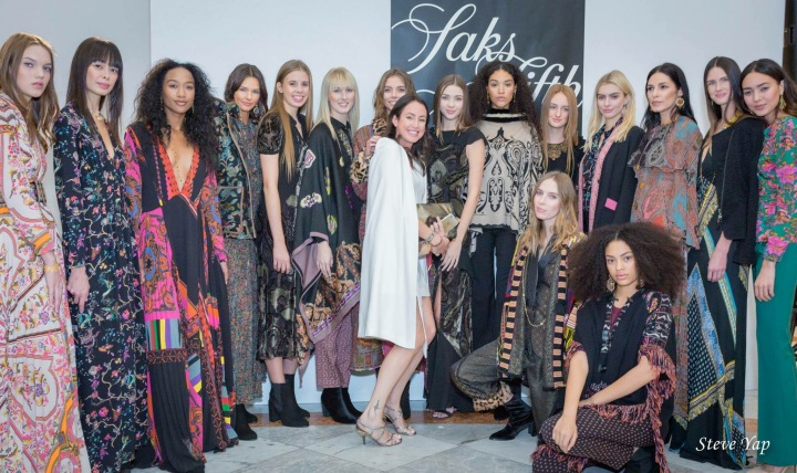 Model talk: Etro at Saks Fifth Avenue